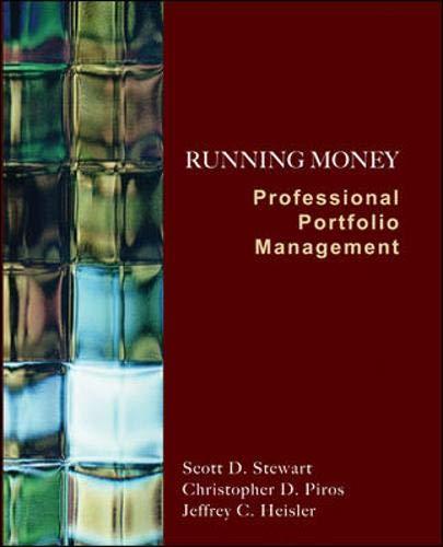 9780073530581: Running Money: Professional Portfolio Management (Mcgraw-Hill/Irwin Series in Finance, Insurance, and Real Estate)