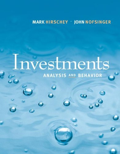 9780073530642: Investments (The Mcgraw-Hill/Irwin Series in Finance, Insurance and Real Estate)