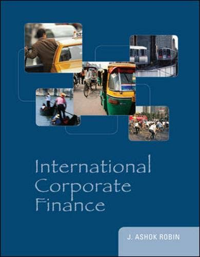 9780073530666: International Corporate Finance (McGraw-Hill/Irwin Series in Finance, Insurance and Real Estate)
