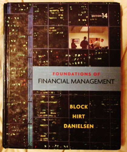 9780073530727: Foundations of Financial Management