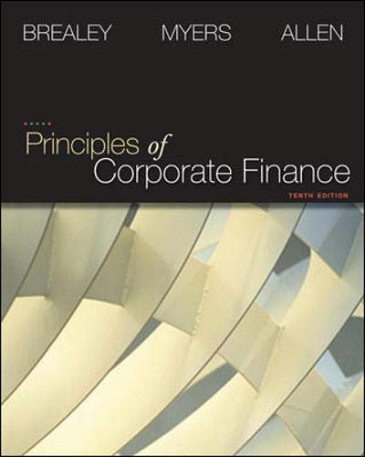 9780073530734: Principles of Corporate Finance (Finance, Insurance, and Real Estate)