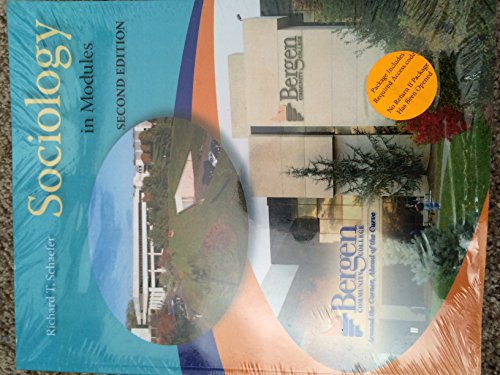 9780073531779: Sociology in Modules, Bergen Community College Custom