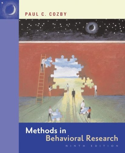 9780073531816: Methods in Behavioral Research