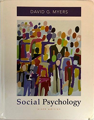 9780073531892: Social Psychology