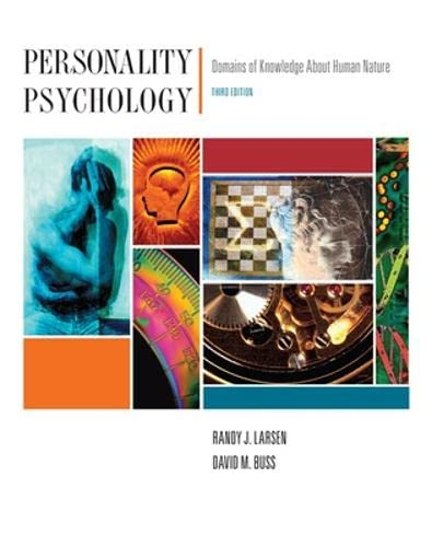 9780073531908: Personality Psychology: Domains of Knowledge About Human Nature