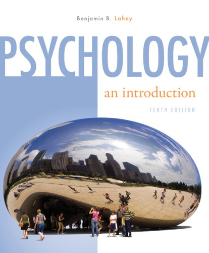 Psychology: An Introduction: Lahey, Benjamin