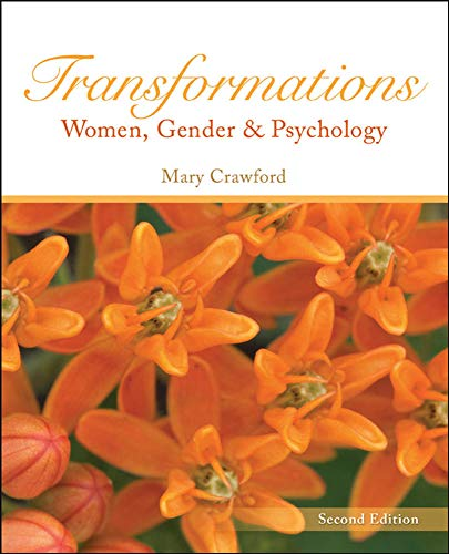 Transformations: Women, Gender and Psychology (Paperback): Mary Crawford