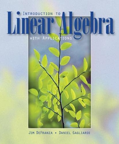 9780073532356: Introduction to Linear Algebra