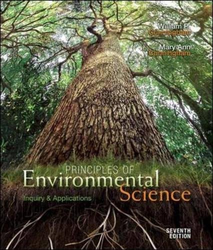 9780073532516: Principles of Environmental Science: Inquiry and Applications
