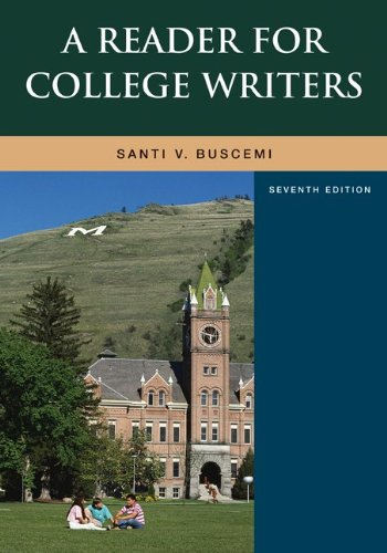9780073533094: A Reader for College Writers