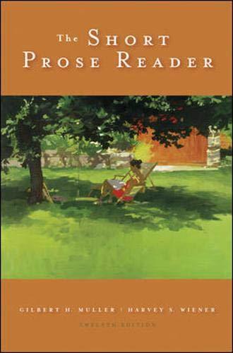 9780073533148: The Short Prose Reader
