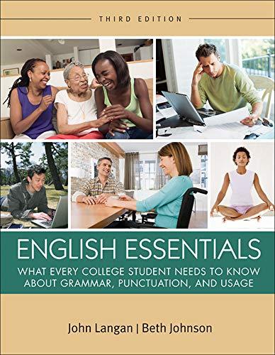 9780073533322: English Essentials (Langan)