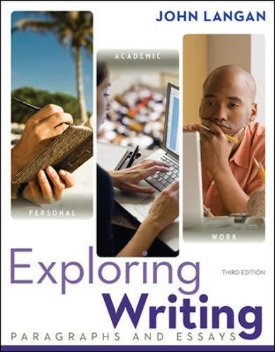 9780073533339: Exploring Writing: Paragraphs and Essays