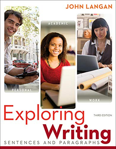 9780073533346: Exploring Writing: Sentences and Paragraphs (Developmental English)