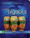 Intermediate Algebra a Real World Approach: Bello, Ignacio &