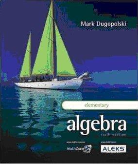 Elementary Algebra: Dugopolski, Mark