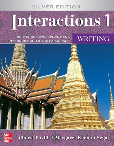9780073533858: Interactions Level 1 Writing Student Book: Sentence Development and Introduction to the Paragraph