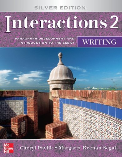 9780073533865: Writing Student Book Writing Student Book: Paragraph Development and Introduction to the Essay (Interactions)