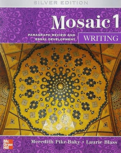 9780073533896: Mosaic Level 1 Writing Student Book