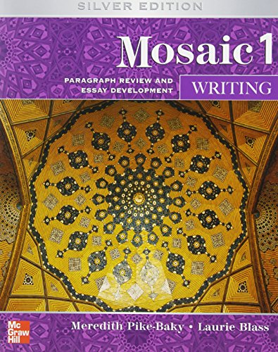 9780073533896: Mosaic Level 1 Writing Student Book