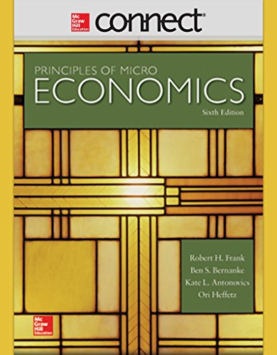 9780073534138: Connect 1 Semester Access Card for Principles of Microeconomics