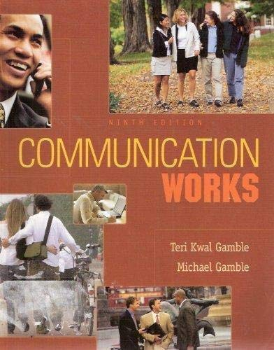 9780073534220: Communication Works