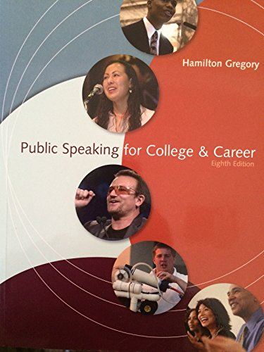 9780073534237: Public Speaking for College Career