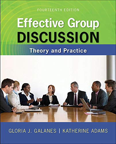 9780073534343: Effective Group Discussion: Theory and Practice