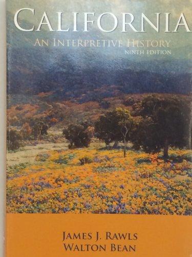9780073534640: California: An Interpretive History