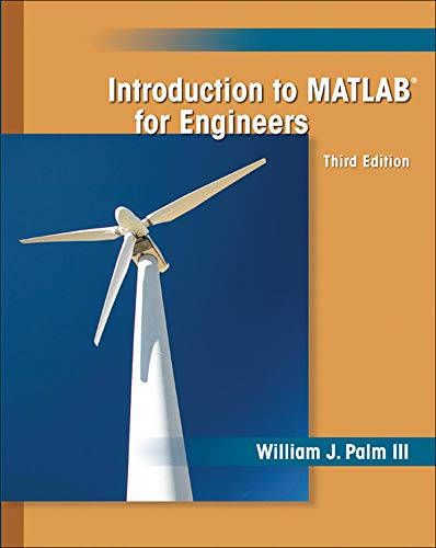 9780073534879: Introduction to MATLAB for Engineers (General Engineering)