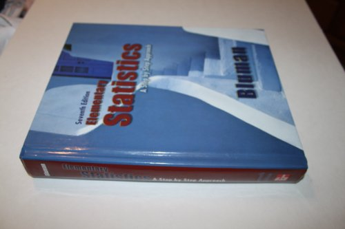 9780073534978: Elementary Statistics: A Step by Step Approach