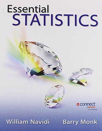 Elementary Statistics Essentials: William Cyrus Navidi