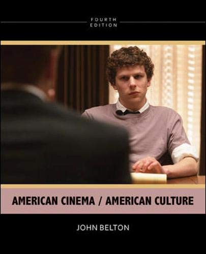 9780073535098: American Cinema / American Culture, 4th Edition