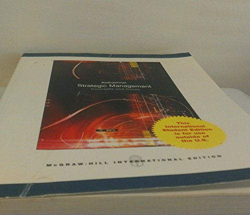 9780073535289: Strategic Management Concepts and Cases