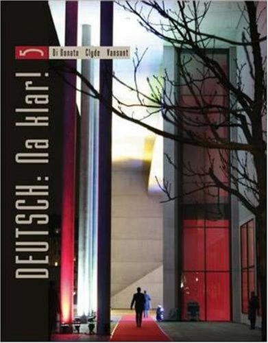 9780073535326: Deutsch: Na klar! An Introductory German Course (Student Edition)