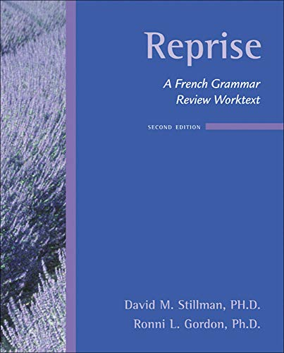 9780073535418: Reprise: A French Grammar Review Worktext