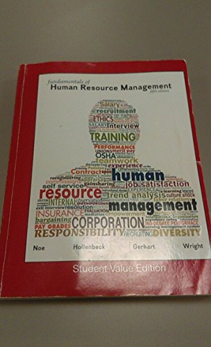 9780073535531: Fundamentals of Human Resource Management Student Value 5th Edition