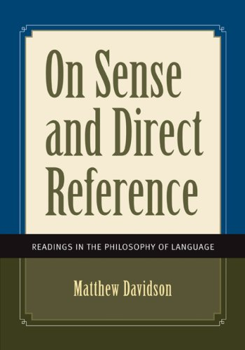 9780073535616: On Sense and Direct Reference: Readings in the Philosophy of Language