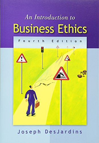 9780073535814: An Introduction to Business Ethics