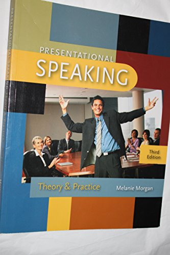 9780073536040: Presentational Speaking Theory and Practice