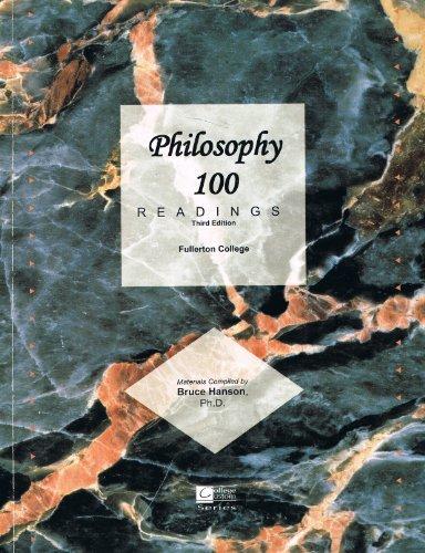 9780073536668: Philosophy 100 readings