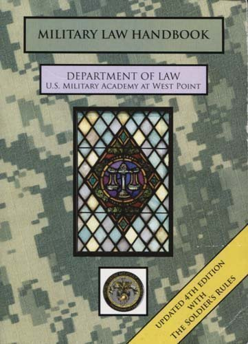 9780073538648: Military Law Handbook