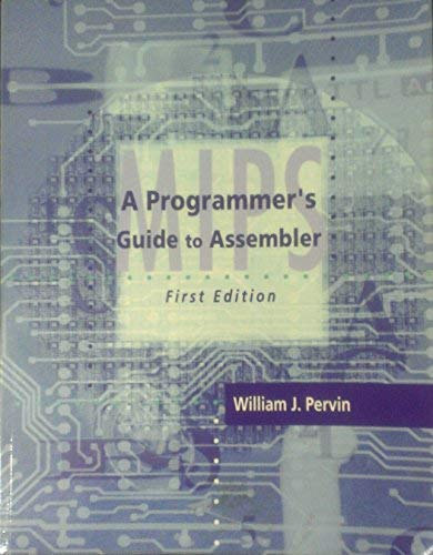 9780073539232: Programmers Guide to Assembler