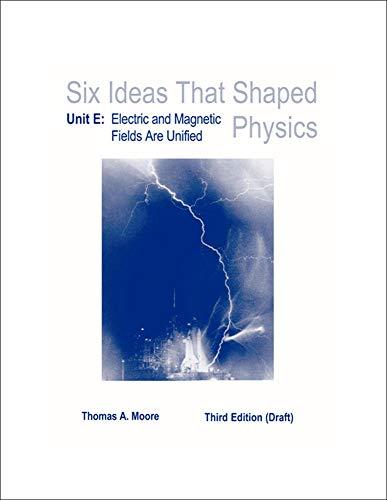 LSC : Six Ideas That Shaped Physics: Thomas A Moore
