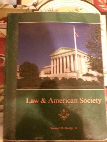 9780073544328: Law & American Society