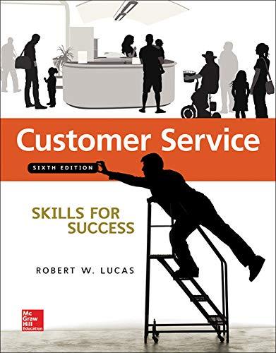 9780073545462: Customer Service Skills for Success - Standalone Book