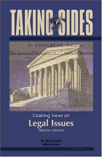 9780073545592: Taking Sides: Clashing Views on Legal Issues