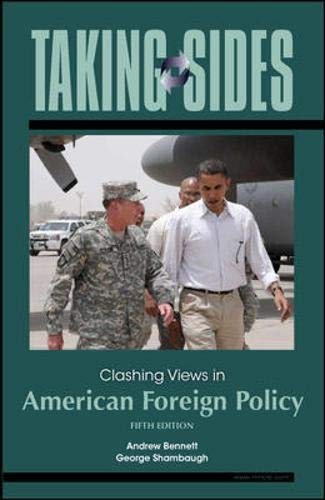 9780073545646: Taking Sides: Clashing Views in American Foreign Policy