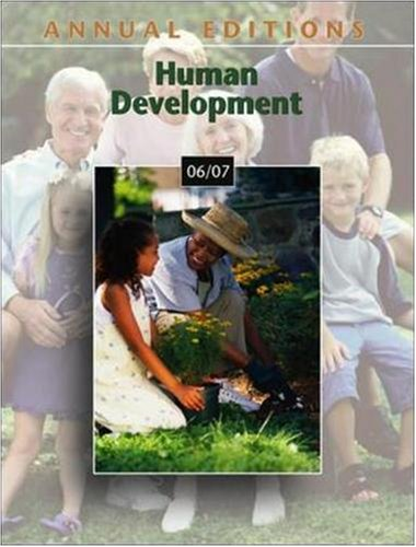 9780073545776: Annual Editions: Human Development 06/07