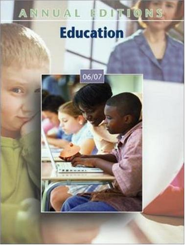 9780073545806: Annual Editions: Education 06/07